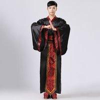 çin ulusal kostüm kadınları toptan satış-GONGFU Antik Kostüm Erkek Çin Halk Dansları Kostüm Yetişkin Çin Ulusal Sahne Cospaly Tang Giyim Kadın Hanfu 5822