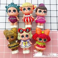 ingrosso sforzo di alleviare-Sorpresa Baby Squishy Toy lento aumento Jumbo stress alleviare la bambola sorpresa lol Multicolor bambini spremere giocattoli bambini decompressione giocattoli per bambini