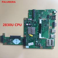 asus anakart kalitesi toptan satış-PALUBEIRA ASUS X403M F453M için yüksek kalite ücretsiz kargo loptop anakart ile 2830U CPU X453MA ANA KURULU ER2.0 100% test
