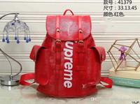 planche à roulettes deux achat en gros de-Nouvelle marque SUP sac à dos designer sac à dos sac à main de haute qualité deux couleurs couture sac à dos sacs d'école en plein air sac livraison gratuite
