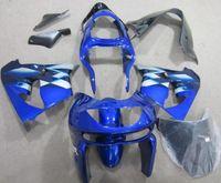mavi 1998 zx9r toptan satış-Ninja Kawasaki ZX9R 1998 için yeni ABS kaporta kiti 1998 fairing motosiklet parçaları ZX-9R 98 ZX 9R 99 Ücretsiz Özel mavi