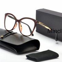 New Cat Women Glasses Clear Frame Female Eyeglass Frame Fashion Myopia Prescription Glasses Lens FML