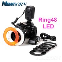 Anneau LED Halo Eclairage Macro Lampe Torche Photo Canon Nikon Pentax Sony...