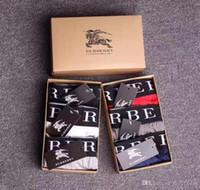die unterwäsche der männer großhandel-Designer Marke Mens Boxer Männer Unterhose Brief für Mann Unterhosen Sexy Unterwäsche Herren Boxer Baumwolle Unterwäsche Shorts männlich
