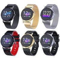 relojes de pulsera unisex al por mayor-CV08F Pantalla redonda en color Reloj inteligente Frecuencia cardíaca Movimiento Pulsera Presión arterial Monitoreo dinámico Sueño Reloj inteligente Unisex