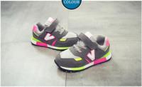 erkek kızlar gündelik beyaz ayakkabılar toptan satış-2019 Yeni Çocuklar Bebek Ayakkabı Bebek Kız Çocuklar Için Çocuk Rahat Sneakers Mesh Nefes Yumuşak Ayakkabı Gri beyaz pembe