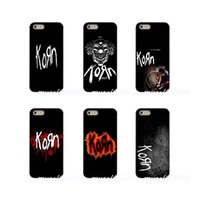ingrosso cassa di telefono s3 metallo-Korn Heavy Metal Rock Band Jonathan Davis Logo Cover rigida per telefono Samsung Galaxy Note 3 4 5 8 S2 S3 S4 S5 MINI S6 S7 edge S8 S9 Plus