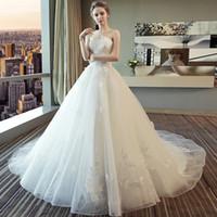 cauda de vestido de noiva venda por atacado-Personalizar Praia Curta Vestido de Noiva Barato Plus Size Vestidos de Noiva Do Vintage Casamentos Vestidos Vestidos Princesa A Noiva de cauda