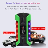 Wholesale multi function jump starter emergency resale online - 20000mAh Multi function Car Battery Jump Starter A Vehicle Emergency Battery V Portable Auto External Power Bank
