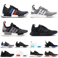 e1e0d64a8 Wholesale nmd runner online - 2019 NMD R1 Primeknit Runner Running Shoes Men  Women Glitch Pack