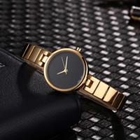 ingrosso marche di orologi moderni-2019AAA Orologi Luxury da donna Fashion Famous brand Modern Casual Orologio Bracciale Designer Silver Rose Gold Quarzo da polso nuovo modello