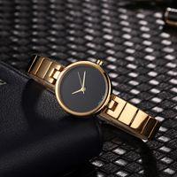marcas de relógios modernas venda por atacado-2019AAA Relógios de Luxo das Mulheres de Moda Famosa marca Moderna Casual Relógio Pulseira de Prata de Design de Quartzo de Ouro Rosa relógios de Pulso novo modelo