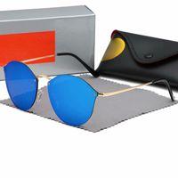 gözlükler toptan satış-2019 Marka Erkekler ve Kadınlar için Popüler Tasarımcı Güneş Gözlüğü Dazzle Renk Kedi Göz Tasarımcı Gözlük Gözlük Spor Sürüş Bisiklet Güneş Gözlüğü