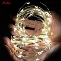 Wholesale string lighting for bedrooms resale online - 20 LEDS Copper Wire String Light mini fairy night light bedroom lamp Wine Bottle Lights for Wedding Party Decoration Z