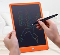 Wholesale kids 10 inch tablet for sale - Group buy 10 inch Writing Tablet LCD Drawing Board New High Light Blackboard Paperless Notepad Memo Handwriting Pads With Upgraded Pen Gift for Kids