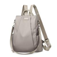 Wholesale nylon bags shoulder straps for sale - Group buy 2019 Hot Women s Backpack Casual Nylon Solid Color School Bag Fashion Detachable Shoulder Strap Shoulder Bag