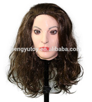 Wholesale doll mask cosplay for sale - Group buy Top Grade Deluxe CosPlay Julia Mask Overhead Latex TV Fancy Doll Masks Crossdress face mask party cosplay women mask