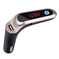 Wholesale mp3 online – Professional Car Bluetooth MP3 Player Hands free Calling Fm Card Machine Dual Support Usb Chargering Usb Player MP3 Player