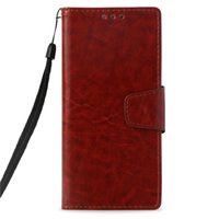 Wholesale xperia flip covers for sale – best Retro PU Wallet Case For Sony Xperia XA1 Case Cover for Sony XA1 Flip Cover Kickstand Cases with Card Pocket