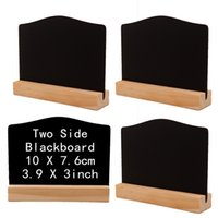 Wholesale Antique Home Bar Decorations Online   Double Sided Hotel Bar  Office Small Blackboard Home Decoration