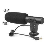ingrosso microfono del registratore vocale-Microfoni stereo universali Microfoni registratori vocali per videocamera digitale Videocamera Dslr Videoregistratore VCR
