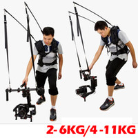 achsenkardan dslr großhandel-Freeshipping Easyrig Serene Steadicam Vest-Unterstützung-einfache Anlage für Dslr-Kamera DJI Ronin M 3 Achsen-Gimbal-Stabilisator-Gyroskop