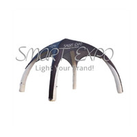 4-Sided Air Promotion Tent Event Marquee Sealed Type with Customized Printing Manual Air Pump Carry Bag (6M x 6M)