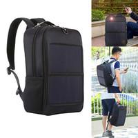 énergie solaire pour ordinateur portable achat en gros de-Sac à dos pour hommes alimenté solaire pour ordinateur portable Daypack Voyage d'affaires Sac étanche ASD88
