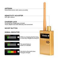 spy camera оптовых-Анти-шпион Беспроводной детектор РЧ-сигналов Обновление Улучшенная ошибка GPS-камера Детектор сигнала для обнаружения скрытой камеры GPS-трекер