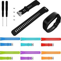Wholesale garmin smart watches for sale - Group buy Soft Silicone Replacement Wrist Watch Band Strap Wristband for Garmin vivosmart HR Smart Watch With Screw Tools