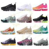 Wholesale new free run shoes resale online - New Mens Shoe Sneakers TN Plus Breathable Air Cusion Desingers Casual Running Shoes New Arrival Color US5 EUR36