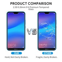 Wholesale huawei mate 10 pro screen protector for sale – best 2 D temperate glass H screen protector for Huawei mate Pro Lite P smart plus protective screen protector