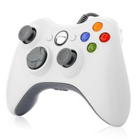 Wholesale xbox 360 controller for sale - Group buy Xbox Controller Wired USB Game Controller Gamepad Joystick For Microsoft Xbox Slim PC Windows PC With Retail Package