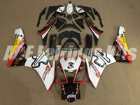 Wholesale motorcycle custom body kit for sale - Group buy New Injection Mold ABS motorcycle Fairings Kits Fit For Aprilia RSV4 RSV4 body Fairing custom white