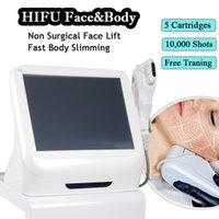 Wholesale anti wrinkle device resale online - HIFU machines ultrasound therapy deep wrinkle removal device hifu machine face lifting anti aging equipment shots