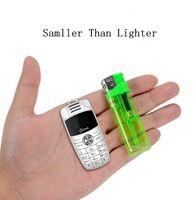 ikili sim quad bandı qwerty toptan satış-Unlocked Quad Band cellpone Mini X6 Araba Anahtarı Modeli Tasarım Cep Telefonu Sihirli Ses Değiştirici Çift Sim Kart Tiny Boyutu Karikatür Çocuklar cep telefonu