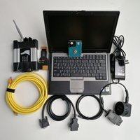 Wholesale bmw icom price resale online - Factory price D630 Used laptop G Wifi Icom Next for BMW New Soft ware HDD GB Car auto diagnosis and program