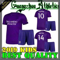 orlando city achat en gros de-Thai qualtiy 2019 2020 MLS Orlando City Enfants maillot de football 19 20 KAKA DWYER COLMAN maillots de football garçon chemises