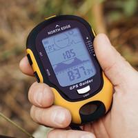 açık gps pusulası toptan satış-Dijital GPS Altimetre Barometre Pusula Çok Fonksiyonlu Yürüyüş Survival Askeri Pusula Taşınabilir Açık Kamp Yürüyüş Tırmanma Altimetre