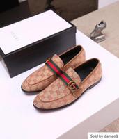Wholesale luxury brands designer formal shoes resale online - 19ss designer luxury brands elegant oxford men leather italian formal dress office footwear black tassel shoes