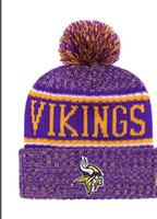 Wholesale viking beanie for sale - Group buy NEW Striped Sideline Design Minnesota Sport Cuffed Knit Hat Wool Bonnet Warm Cheap Beanies Hip Hop Vikings Knitted Skull Caps for Men Women