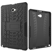 Wholesale tab pc resale online - Dazzle Hybrid Kickstand TPU PC Rugged Armor Tablet Case Cover for Samsung Galaxy Tab A T385 T280 with Kickstand
