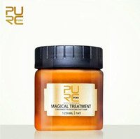 PURC Magical keratin Hair Treatment Mask 120ml 5 Seconds Repairs Damage Root Hair Tonic Keratin Hair & Scalp Treatment