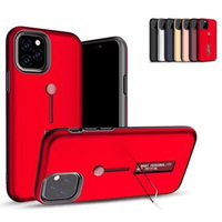 Wholesale iphone 8plus case with ring for sale – best Newest In Hybrid Shockproof Back Cover With Ring Kickstand Phone Case For iphone pro max xr xsmax xs plus