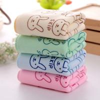 ingrosso cucina bambino-Costumi da bagno Asciugamano per bambini Asciugacapelli assorbente Asciugamani da spiaggia Asciugamani lavabili per bambini Cucina Bagno Asciugamano Asciugamano in tessuto