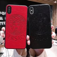 Wholesale soft cell phone cases for sale – best for iphone x luxury case designer phone case for iphone xr plus fashion famous pu leather cell phone case soft touch back cover