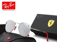 gafas de sol de aluminio polarizadas para hombres al por mayor-Gafas de sol polarizadas de aluminio vintage para hombres gafas de sol clásicas gafas de sol con lente para hombres / mujeres