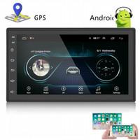 auto gps navigator mp3 großhandel-HD 7 Zoll Auto Wifi Android GPS Navigation Bluetooth LKW GPS Navigator FM MP4 MP3 Video Player
