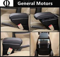 Wholesale auto leather seat pad resale online - 2018 New Leather Car Armrest Pad Universal Auto Armrests Car Center Console Arm Rest Seat Box Pad Vehicle Protective Styling