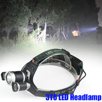 Wholesale batteries 6v for sale - Group buy Crestech Lm T6 LED Headlight Headlamp Head Lamp Light mode torch x18650 battery charger for fishing Lights T6 Headlamp